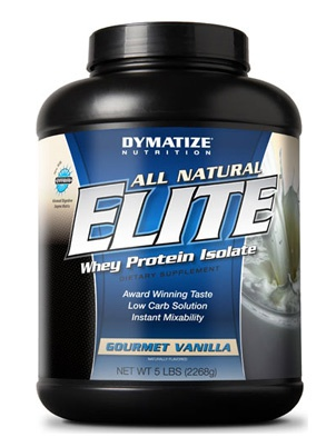 Dymatize All Natural Elite Whey Protein 2275g 2268 г