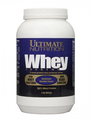 Ultimate Nutrition Whey Supreme 908 г