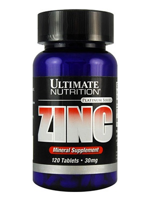 Ultimate Nutrition Zinc 120 таблеток