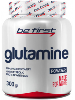 Be First Glutamine powder 300g 300 г