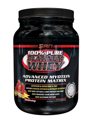 San Nutrition 100% Pure Platinum Whey 908 г