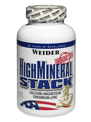 Weider Germany High Mineral Stack 120 капсул