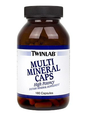 TwinLab Multi Mineral Caps 180 cap 180 капсул