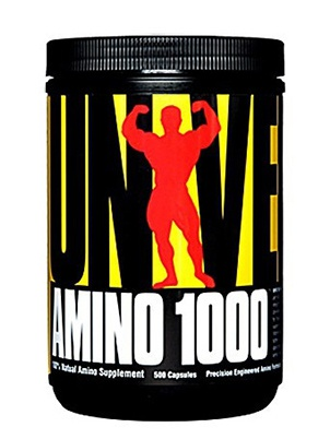 Universal Nutrition Amino 1000 500 капсул