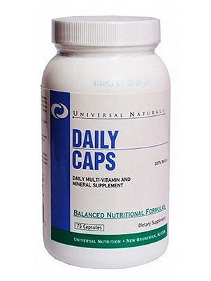 Universal Nutrition Daily Caps 75 cap 75 капсул