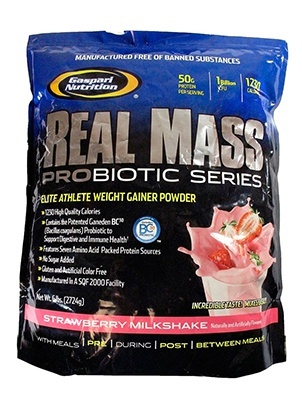 Gaspari Nutrition Real Mass Probiotic 5450 г
