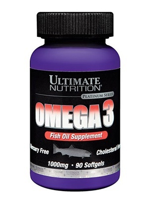 Ultimate Nutrition Omega 3 1000 мг 180 софтгельевых капсул