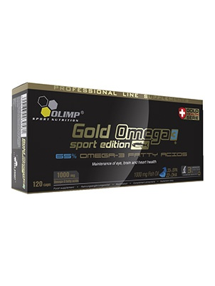Olimp Nutrition Gold Omega-3 Sport Edition 120 капсул