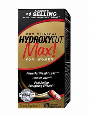 Muscletech Hydroxycut Max Pro Clinical For Women  120 капсул