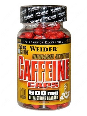 Weider Germany Caffeine 110 капсул