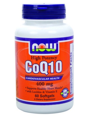 NOW Coenzyme Q10 60 капсул