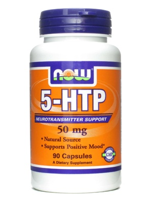 NOW Foods 5-HTP 50mg 90 cap 90 капсул