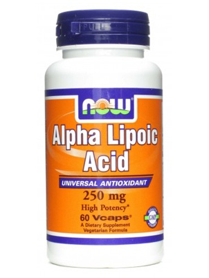 NOW Alpha Lipoic Acid 60 капсул