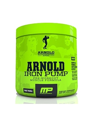 Muscle Pharm Arnold Iron Pump  180 г