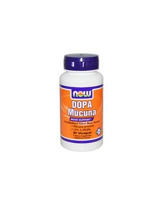 NOW Dopa Mucuna 90 caps (NOW) 90 капсул