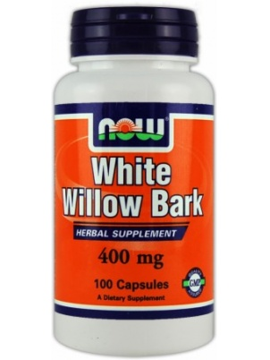 NOW White Willow Bark 100 капсул