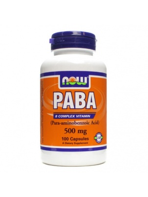 NOW PABA 100 капсул