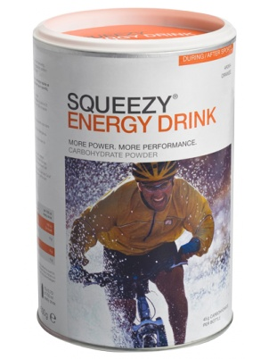 Squeezy Sports Nutrition Energy Drink  500 грамм