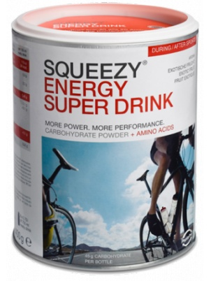 Squeezy Sports Nutrition Energy Super Drink  400 грамм