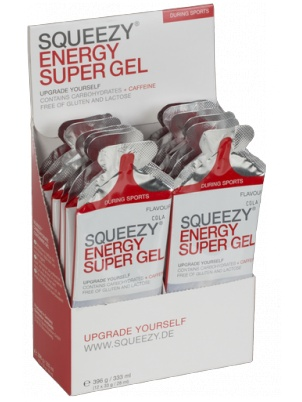 Squeezy Sports Nutrition Energy Super Gel  12 по 33 грамма