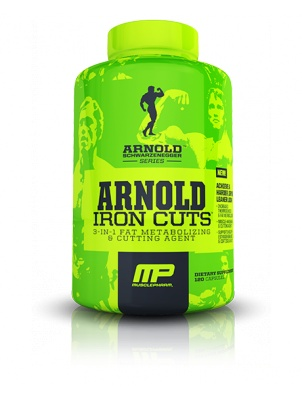 Muscle Pharm Arnold Iron Cuts 120 капсул