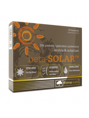 Olimp Nutrition Beta Solar 30 caps  30 капсул