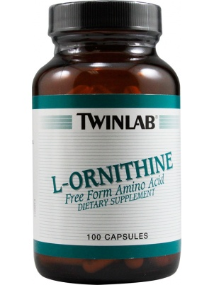 TwinLab L-Ornithine  100 капсул