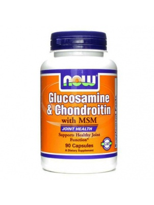 NOW Glucosamin & Chondroitin MSM 90 капсул