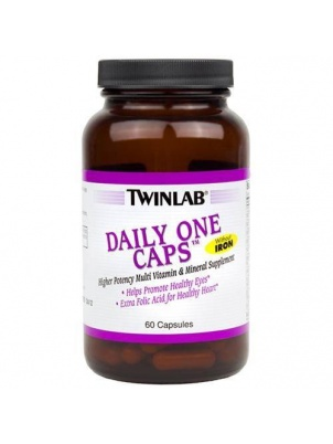 TwinLab Daily One Caps Without Iron 60 капсул