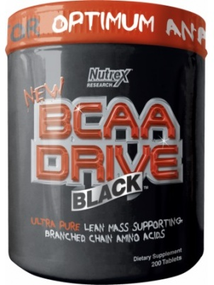 Nutrex Research BCAA DRIVE  200 таб