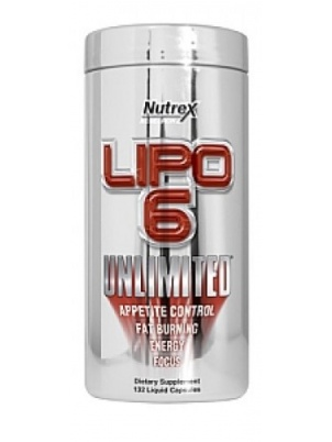Nutrex Research Lipo-6  Unlimited  120 капсул