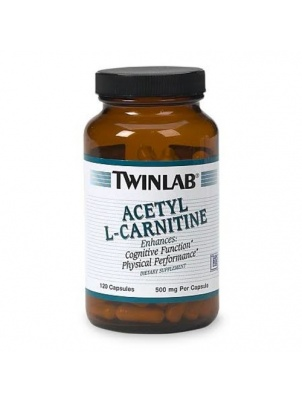 TwinLab Acetyl L-Carnitine 120 капсул