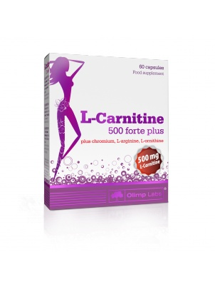 Olimp Nutrition L-Carnitine 500 Forte Plus 60 капсул