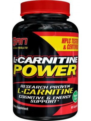 San Nutrition L-Carnitine Power  60 капс.