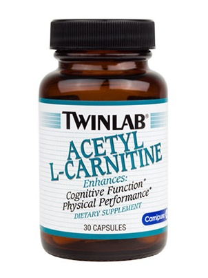 TwinLab Acetyl L-Carnitine 30 капсул