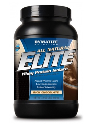 Dymatize All Natural Elite Whey Protein 907g 934 г