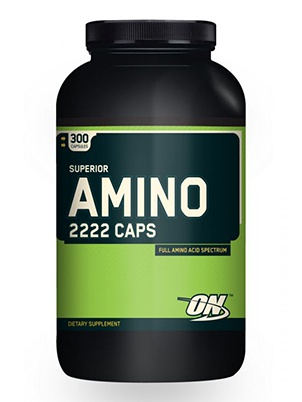 Optimum Nutrition Superior Amino 2222 300 капсул