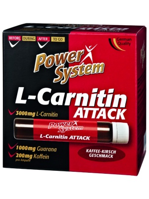Power System L-Carnitin Attack 20 ампул