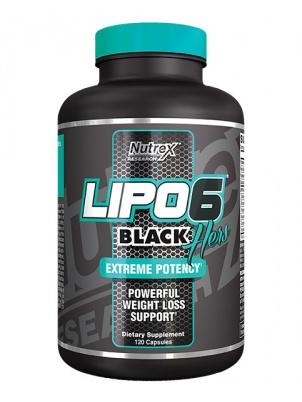 Nutrex Research Lipo-6 Black Hers 120 капсул