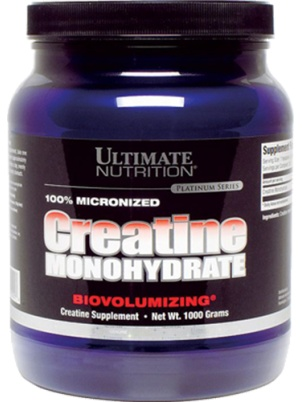 Ultimate Nutrition 100% Micronized Creatine Monohydrate 1000 гр.