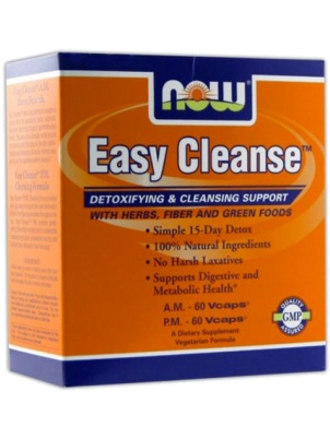 NOW Foods Easy Cleanse 120 капс.