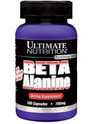 Ultimate Nutrition Beta Alanine 750mg 100 cap 100 капс.