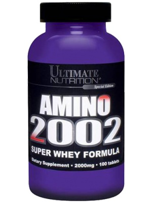 Ultimate Nutrition Amino 2002 100 таб.