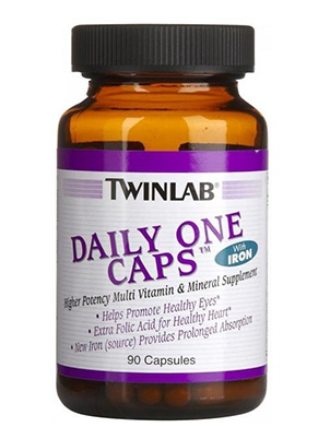 TwinLab Daily One Caps 90 капсул