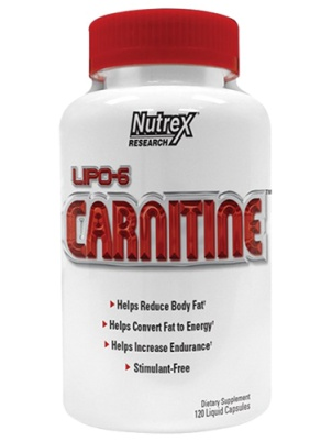 Nutrex Research Lipo-6 Carnitine 120 капс.