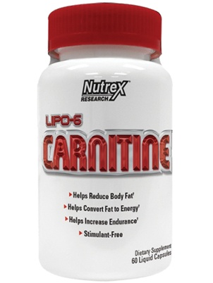 Nutrex Research Lipo-6 Carnitine 60 капс.