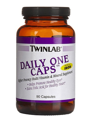 TwinLab Daily One Caps Without Iron 180 капсул