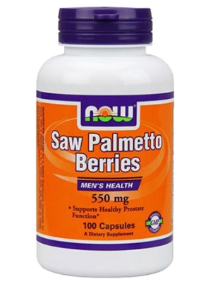 NOW Saw Palmetto  100 капсул