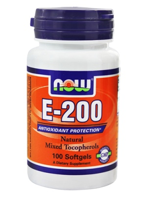NOW E-200 Mixed Tocopherols 100 капс.