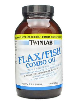 TwinLab Flax/Fish Combo Oil софтгель 120 капсул